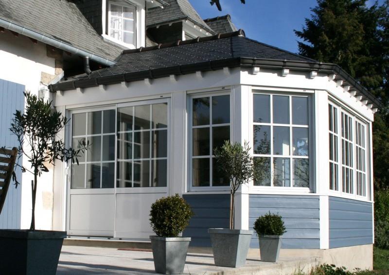 Extension bois agrandissement maison quimper finist re sud - Loi sur agrandissement maison ...