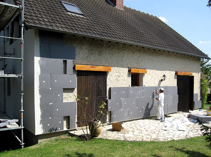 Ite isolation thermique par l 39 ext rieur quimper finist re for Isolation maison exterieur